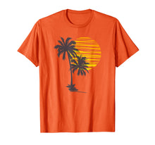 Charger l'image dans la galerie, Sunset Beach Palm Tree TShirt Funny Summer Vacation Holiday T-Shirt