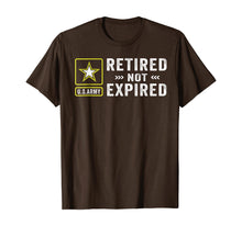 Charger l'image dans la galerie, Retired Army Not Expired T-Shirt