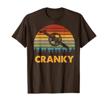 Charger l'image dans la galerie, Retro Vintage Gift For Cycling Lovers Bicycle Cranky T-Shirt