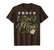 Charger l'image dans la galerie, Proud Army Mom Shirt | Cute Military Mama T-shirt USA Gift