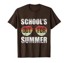 Charger l'image dans la galerie, Retro Last Day Of School Schools Out For Summer Teacher Gift T-Shirt
