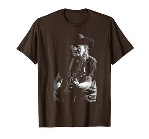 Retro Vintage Willie Shirt Nelson Legends Live Forever Gift T-Shirt