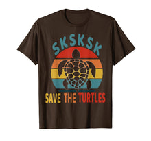 Charger l'image dans la galerie, SKSKSK Save The Turtles Vintage Funny Meme Gift  T-Shirt