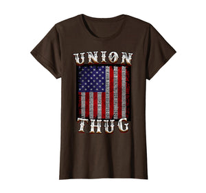 Funny shirts V-neck Tank top Hoodie sweatshirt usa uk au ca gifts for Union Thug American Flag Union Strong and Solidarity Shirt 2026575