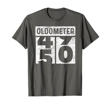 Charger l'image dans la galerie, Oldometer Odometer Funny 50th Birthday Gift 50 yrs Old Joke T-Shirt
