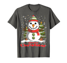 Charger l'image dans la galerie, Snowman Merry Christmas Tree Snowflakes Cute Funny T-Shirt