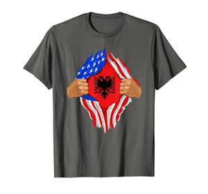 Funny shirts V-neck Tank top Hoodie sweatshirt usa uk au ca gifts for Albanian Blood Inside Me T-Shirt | Albania Flag Gift 2380506