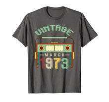 Charger l'image dans la galerie, Funny shirts V-neck Tank top Hoodie sweatshirt usa uk au ca gifts for Vintage March 1973 T shirt 46th Birthday Gifts Decorations 3496831
