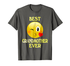 Funny shirts V-neck Tank top Hoodie sweatshirt usa uk au ca gifts for Mothers Day Shirt Best Grandmother Ever Emoji Family Gifts 318511