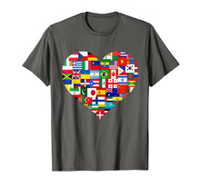 Charger l'image dans la galerie, Funny shirts V-neck Tank top Hoodie sweatshirt usa uk au ca gifts for Flags of the Countries of the World,International Gift Shirt 2348692