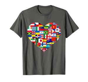 Funny shirts V-neck Tank top Hoodie sweatshirt usa uk au ca gifts for Flags of the Countries of the World,International Gift Shirt 2348692