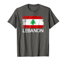 Charger l'image dans la galerie, Funny shirts V-neck Tank top Hoodie sweatshirt usa uk au ca gifts for Lebanese Flag T-Shirt | Vintage Made In Lebanon Gift 2883852