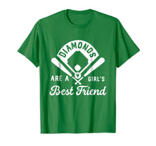 Charger l'image dans la galerie, Funny shirts V-neck Tank top Hoodie sweatshirt usa uk au ca gifts for Diamonds Are A Girl's Best Friend Shirt Baseball Softball 1570814