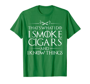 Smoke Cigars Smoker Shirt - Ideal Clever Class Men Gift