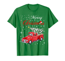Charger l'image dans la galerie, Funny shirts V-neck Tank top Hoodie sweatshirt usa uk au ca gifts for Red Truck Merry Christmas Tree Vintage Red Pickup Truck Tee 1334011