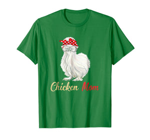 Silkie Chicken Mom T-Shirt Gift for Lovers