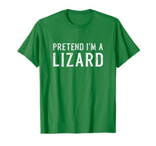 Charger l'image dans la galerie, Pretend I'm A Lizard Lazy Halloween Costume Gift T-Shirt