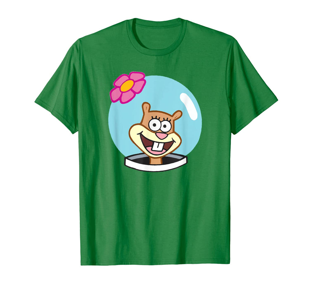 Sandy-Halloween Squirrel Group Costume Cartoon Face Funny T-Shirt