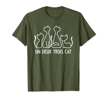 Charger l'image dans la galerie, Funny shirts V-neck Tank top Hoodie sweatshirt usa uk au ca gifts for Un Deux Trois Cat T Shirt Funny Cute French Kitty Gift Women 1127334