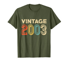 Charger l'image dans la galerie, Retro Vintage 2003 Shirt 16th Birthday Gift Ideas Girls Boys
