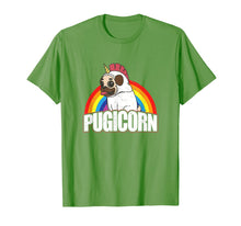 Charger l'image dans la galerie, Pugicorn Pug Unicorn Gift For Dog Lovers  T-Shirt