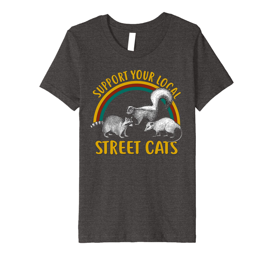 Funny shirts V-neck Tank top Hoodie sweatshirt usa uk au ca gifts for Support Your Local Street Cats Shirt 1094960