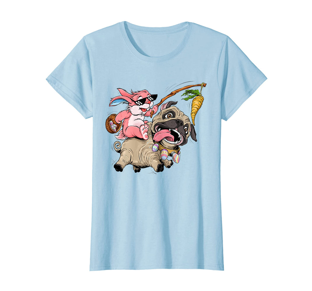 Funny shirts V-neck Tank top Hoodie sweatshirt usa uk au ca gifts for Funny Easter Bunny Pug T Shirt for Boys Girls Toddlers Kids 2527317
