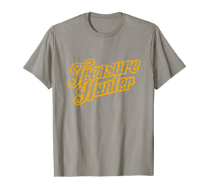 Original Treasure Hunter T-Shirt Gift Tee Coin Collector