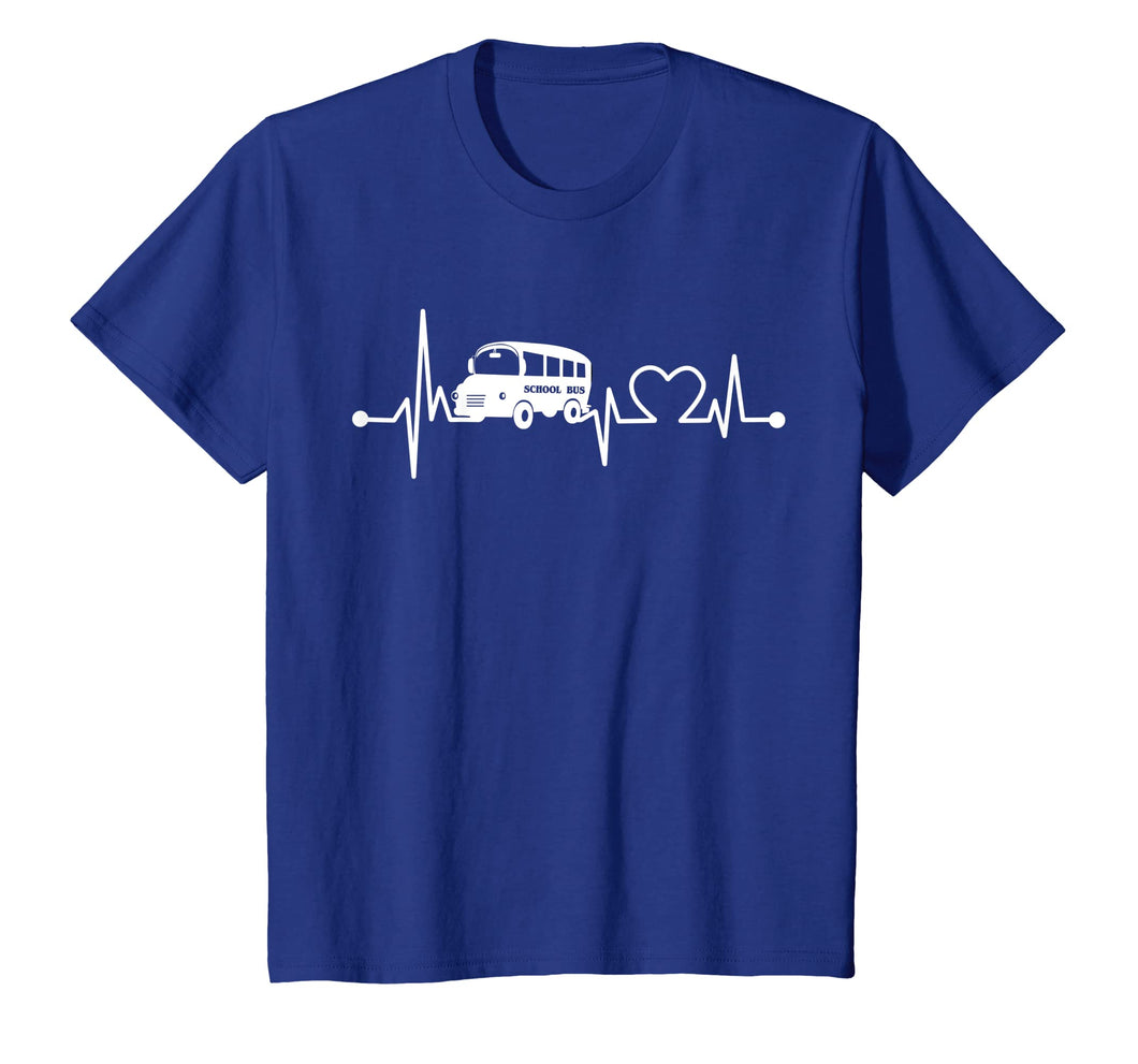 Funny shirts V-neck Tank top Hoodie sweatshirt usa uk au ca gifts for School Bus Driver Heartbeat T-Shirt Funny Cool Loves Gift 2710119