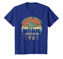 Charger l'image dans la galerie, Funny shirts V-neck Tank top Hoodie sweatshirt usa uk au ca gifts for Vintage Since May 1961 58th Birthday T Shirt Men Women 1049462