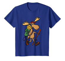 Charger l'image dans la galerie, Funny shirts V-neck Tank top Hoodie sweatshirt usa uk au ca gifts for Smiletodaytees Funny Moose Hiking T-shirt 2001930