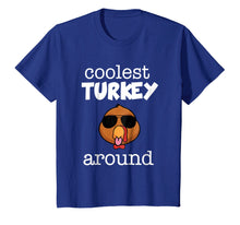 Charger l'image dans la galerie, Funny shirts V-neck Tank top Hoodie sweatshirt usa uk au ca gifts for Coolest Turkey Around Shirt - Thanksgiving Boy T-shirt 2121828