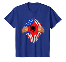 Charger l'image dans la galerie, Funny shirts V-neck Tank top Hoodie sweatshirt usa uk au ca gifts for Albanian Blood Inside Me T-Shirt | Albania Flag Gift 2380506
