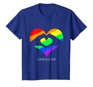 Funny shirts V-neck Tank top Hoodie sweatshirt usa uk au ca gifts for Love Is Love LGBT Hands Love Heart T-Shirt 1960099