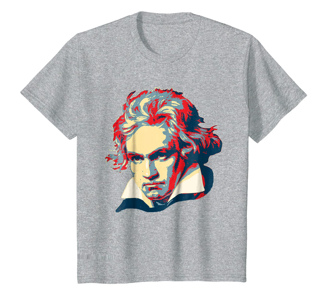 Funny shirts V-neck Tank top Hoodie sweatshirt usa uk au ca gifts for Beethoven Pop Art T-Shirt 1921049