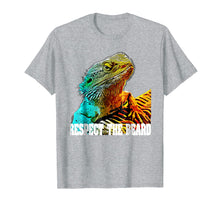 Charger l'image dans la galerie, Respect The Beard T shirt Funny Bearded Dragon T-shirt