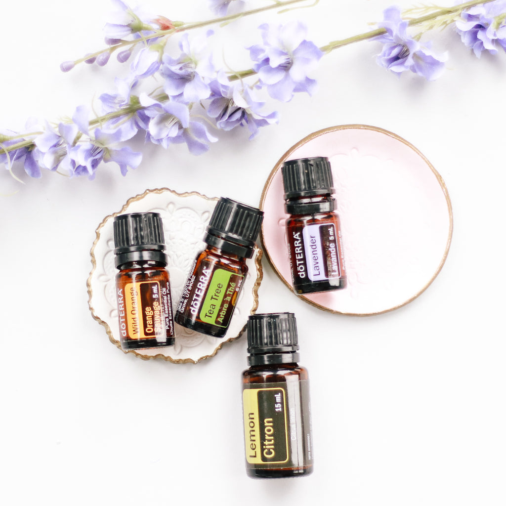GUEST POST with AMANDA HUESTIS | DIY Cleaning Recipes made with Essential Oils!