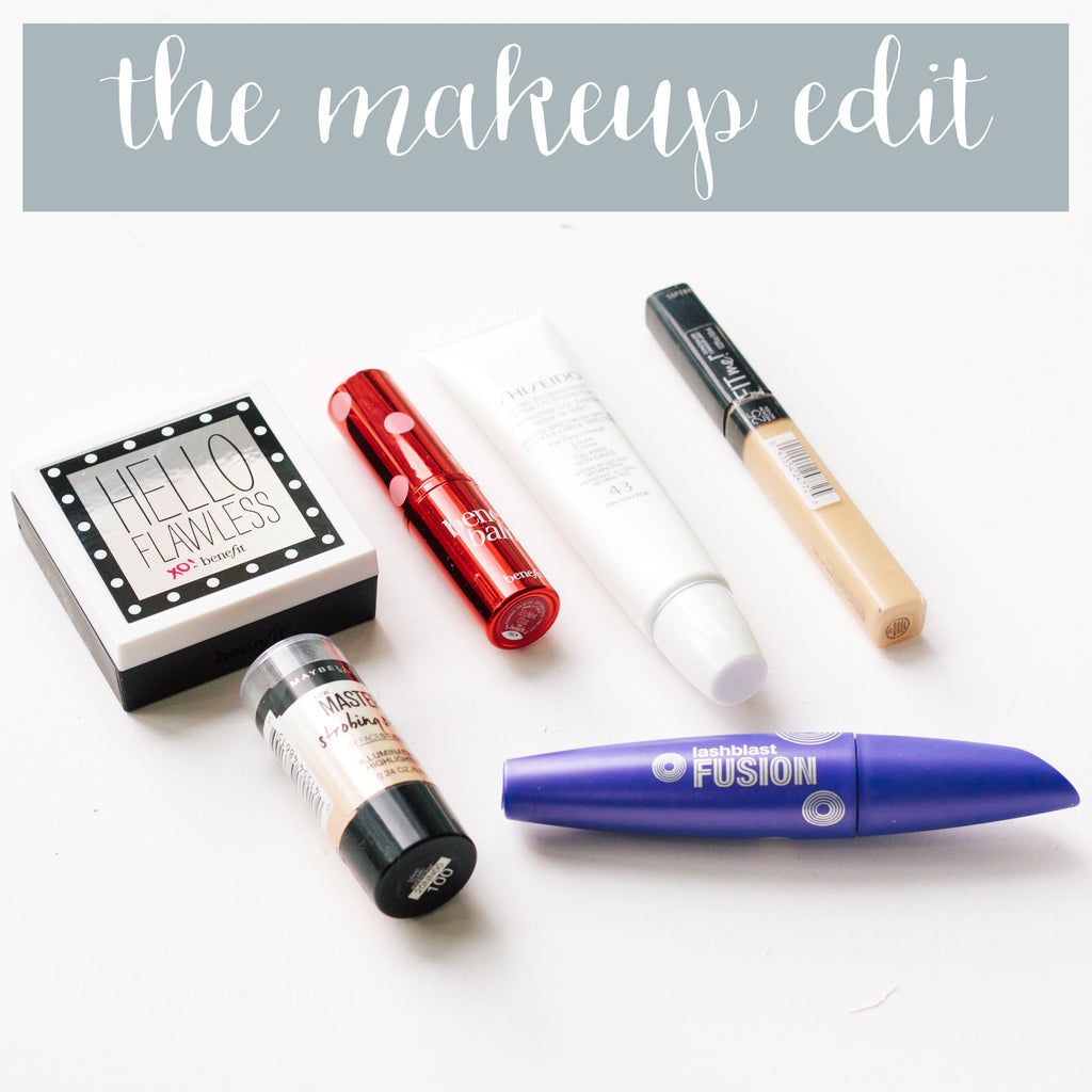 The Friday Five | What's in my makeup bag???