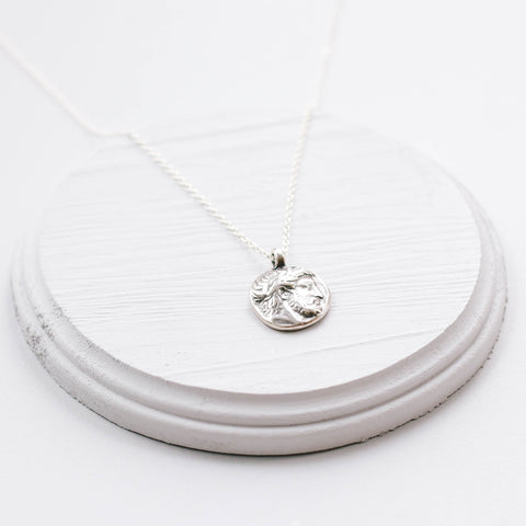 The Zeus Pendant Necklace (sterling silver chain)
