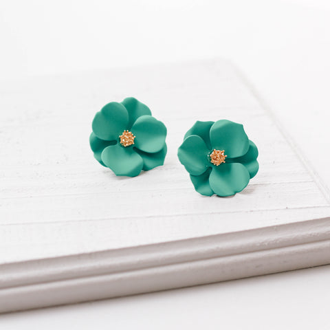 Genivee Flower Earrings