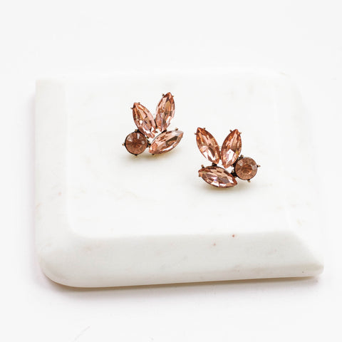 Peachy Keen Jewel Earrings
