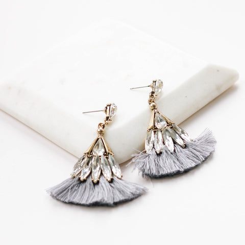 Tiff Tassel Earrings