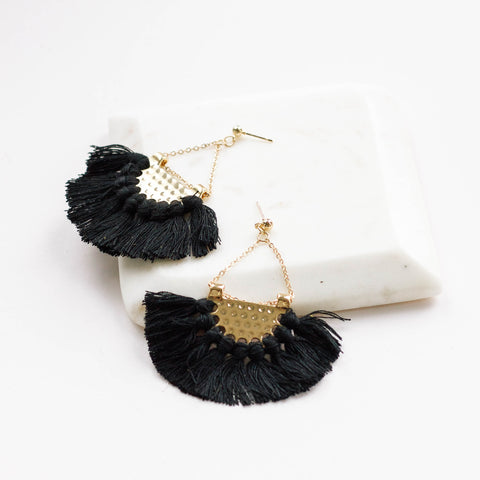 Eliza Tassel Earrings
