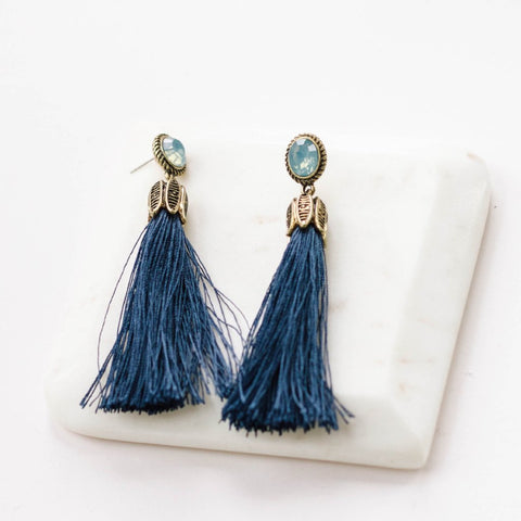 Cass Tassel Earrings