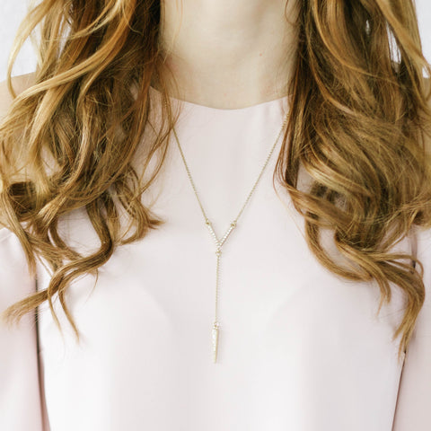 Cadence V Necklace