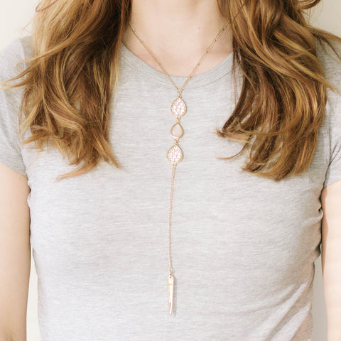 Emily Drop Necklace
