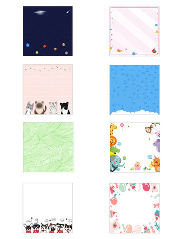 Pattern Background Images for Custom Pet Portrait Paintings