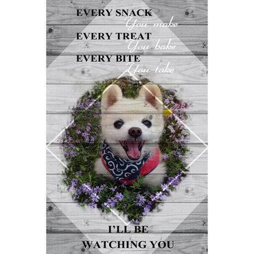 Custom Canvas Wall Art | I'll Be Watching You | Personalized Canvas Prints