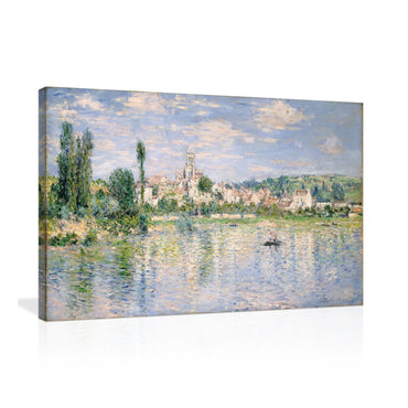 Canvas Wall Art | Summer landscape by Claude Monet Canvas Prints Framed Ready to Hang