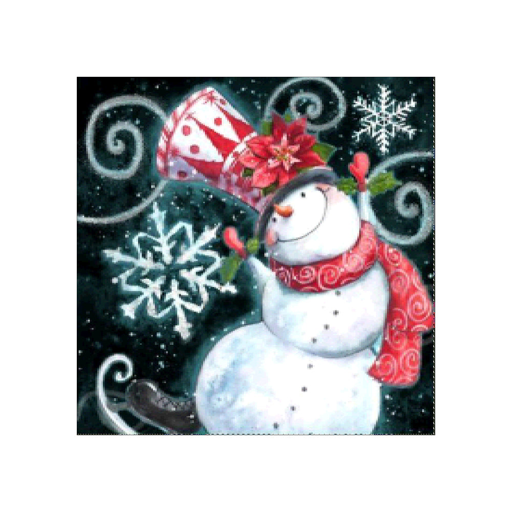 Diamond Painting | Dancing Snowman | DIY Paint with Diamonds